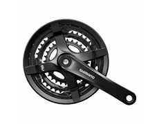 Mechanizm korbowy Shimano FC-TY501 48/38/28X170mm